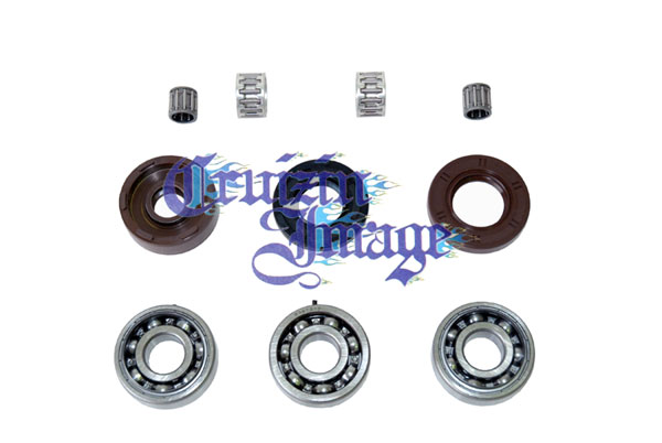 SUZUKI GT125 CRANKSHAFT REBUILD KITS OIL SEALS BEARINGS